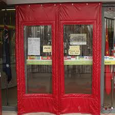 Customize cotton thermal insulation curtain door canvas windproof winter  thickening cold proof leather curtain color-in Curtains from Home & Garden  on ...