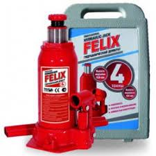 Отзывы о <b>Домкрат</b> гидравлический <b>бутылочный в кейсе</b> Felix
