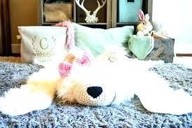 white bear rug faux bear rug nursery bear rug fake bear rug polar bear rug polar white bear rug