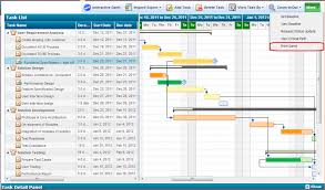 Free Gantt Chart Program Chart Template