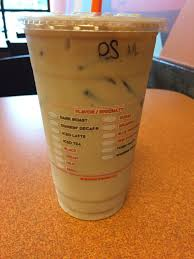 Simply pour over ice, do what you like, and enjoy! Dunkin Donuts Iced Pumpkin Macchiato Review Fast Food Geek