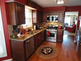 Kitchen Theme Thomasville Kitchen Cabinets Decoration Colors With Red Color