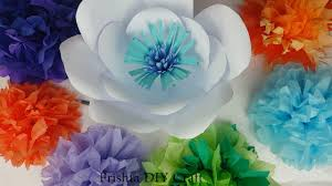 Paper Flower Backdrop Garland Diy How To Giant Paper Flower Backdrop Giant Paper Flower