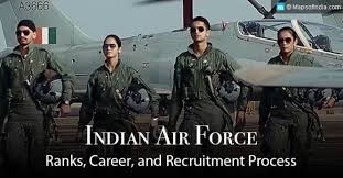 Indian Air Force Ranks And Recruitment Process My India