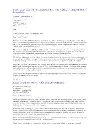Resume Cover Letter Model
