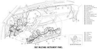 1967 mustang wiring and vacuum diagrams average joe restoration 70 mustang instrument cluster wiring diagram 1970
