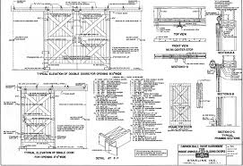 Dutch Barn Door Plans Building Barn Doorsknotty Alder Barn Door Styles Man Pushing