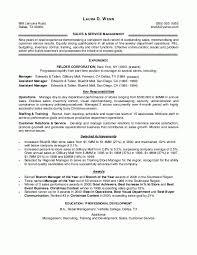 Resume Objective For Retail   berathen Com