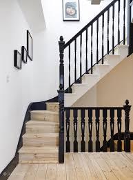 Des escaliers  la forme classique mais au look pas si classique que a ! Le