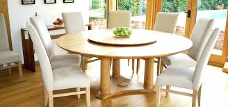 Creative Round Dining Table With Lazy Susan Dining Table With Lazy