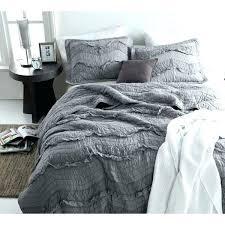 grey ruffle bedding single tone alloy chevron ruffles sets gray and white blue charcoal target