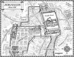 Ancient map of jerusalem new maps u2013 jerusalem in 4 bc and 21st century elisabeth alba
