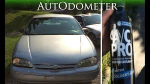 How to add Refrigerant to Chevy || 1997 Chevy Lumina - YouTube