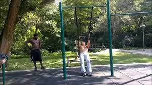 rear deltoid flies on gym rings