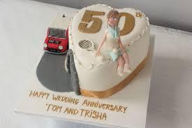 50th Wedding Anniversary Cake Bakery