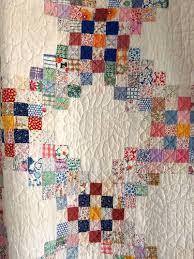 Best 25+ Vintage quilts ideas on Pinterest | Quilt patterns ... & Vintage Handmade 1930s Triple Irish Chain Quilt Postage Stamp Feedsack  Antique Adamdwight.com
