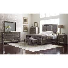 avalon furniture lenox upholstered panel bed hayneedle