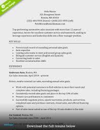 Retail Sales Associate Resume Examples Sales Associate Job