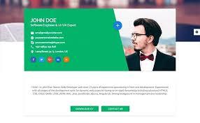 Online Resume Template Web Developer Resume Free Download Online
