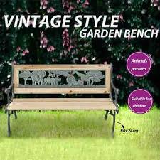 vidaXL <b>Children Garden Bench</b> Wood Outdoor Park <b>Kids</b> Lounge ...