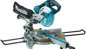 miter saw labeled. new makita 18v x2 cordless miter saw labeled e