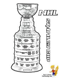 Coloring Nhl Hockey Champions Stanley Cup Tell Other Kids You
