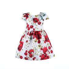 Childrens Clothing Designer 2016 Spring Summer Girl Dress Fashion Children Christmas