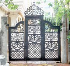 Gate And Fence Metal Gate Door Wrought Iron Gate Designs
