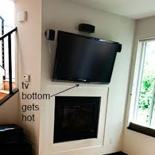 How To Prevent Wallmounted TV Above Fireplace From Getting Hot Mounting A Tv Over A Fireplace