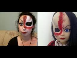 living dead dolls jennocide makeup tutorial