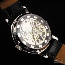 luxury mens watch hot unique skeleton transparent hand winding dhgate super sellers we are the professional supplier watches worldwide shipping we have years dhgate s experience all products are safe fast delivery