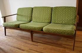 mid mid century modern sofa frame century modern sofa picked vintage sofas wood frame mcm couch