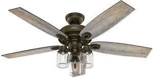 Ceiling Fan Light Indoor Regal Bronze Farmhouse Rustic Industrial