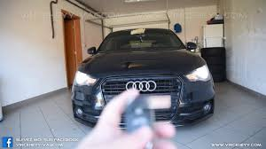 Audi Coming Home Lights Audi A1 8x Coming Leaving Home With Low Beam Youtube