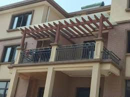 ... Pergola Made Of Eco-friendly Wood Plastic Composite Deck - Buy Wpc Raw  Material,Raw Material For Making Furniture,Balcony Pergola Product on  Alibaba.com