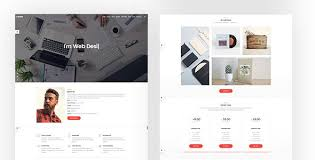 Resume Website Template Simple R Giggs Onepage Vcard Html Template Creative Httpwpskull