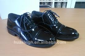 florsheim black military patent leather dress oxford men s size 7 women s size 9 excellent condition worn once comes in original box