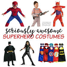 seriously awesome superhero costumes for kids for from classic capes to your kids favorite