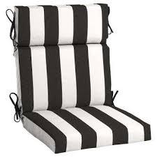 21 5 x 20 sunbrella cabana classic high back outdoor dining chair cushion