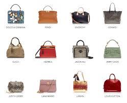 List Of Best Designer Handbags List Of Designer Bags Scale