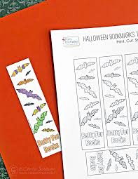 Easy to print or download. Free Printable Bookmarks To Color And Craft Carla Schauer Designs