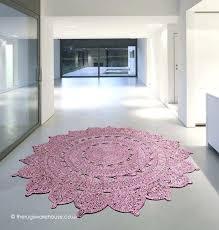 round pink rug heather circle rug pink rug for nursery