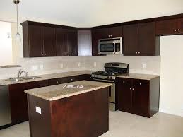 Kitchen Paint Colors With Dark Cabinets Simple Incredible Homes