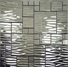 kitchen backsplash stainless steel tiles: image of stainless steel wall tiles backsplash
