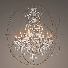 featured photo of metal and crystal chandelier