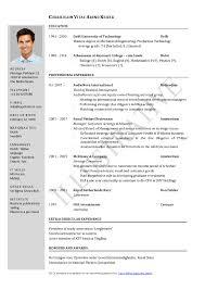 Sample Resume Pdf Sample Resume Pdf Resume Examples Curriculum Vitae