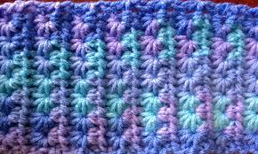 Star Stitch Crochet Pattern