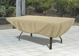 gorgeous outdoor table covers rectangular classic accessories patio cover rectangle tan in furniture classic accessories patio furniture covers p72 patio