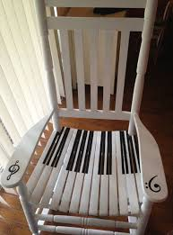 7. Piano chair