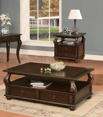 end tables living room. Living Room: Interesting Coffee Table, Varnished Wood Console Square Table With Racks Fruits Books Brown End Tables Room I